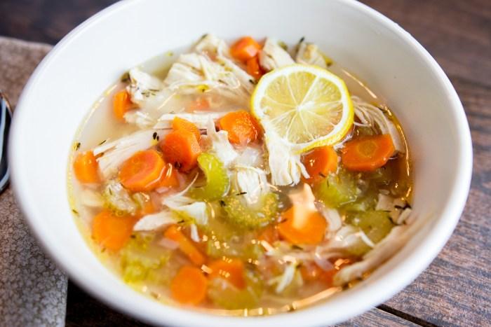 Instant Pot Paleo Chicken Soup