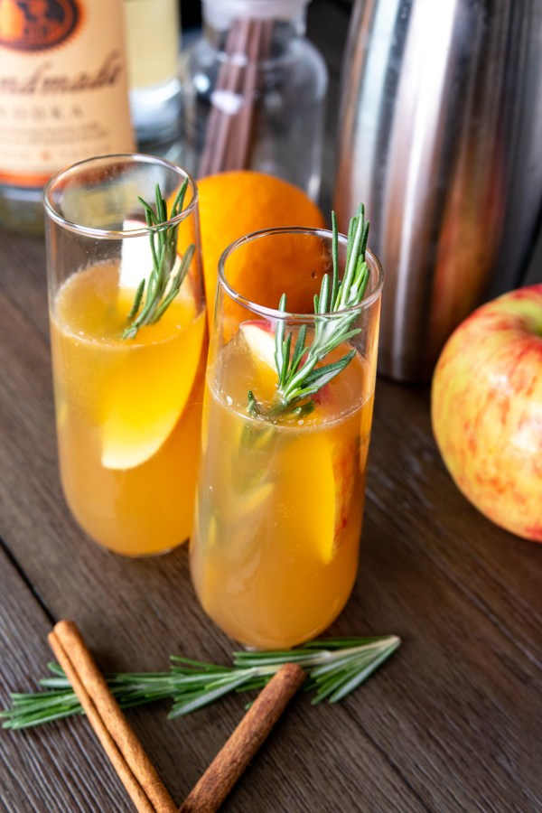 Paleo Autumn Harvest Cocktail from above