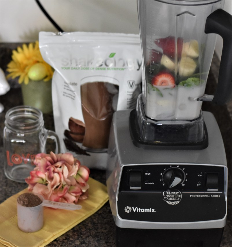 healthy snack chocolate vegan shakeology
