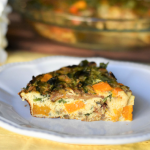 Whole30 Crustless Quiche (Gluten-free + Diary-free +Paleo)