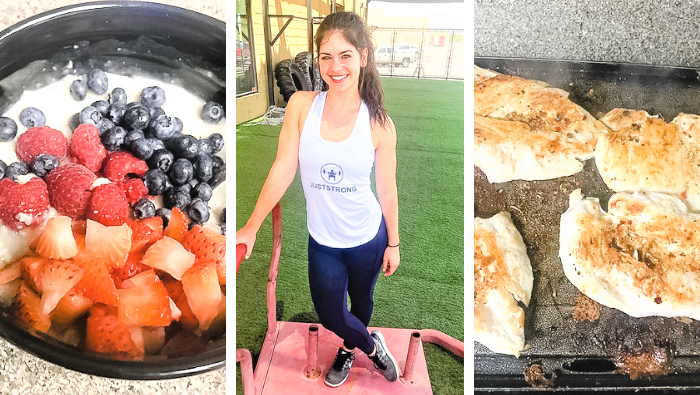 A Day in the life of a Personal Trainer: Hailey St. Clair