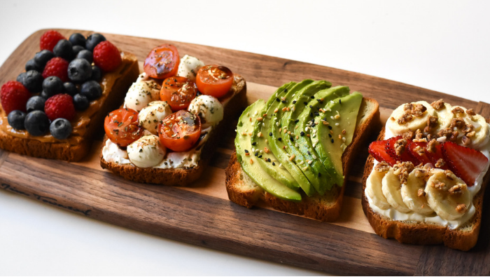 Reinventing toast: 4 healthy breakfast ideas when you're short on time