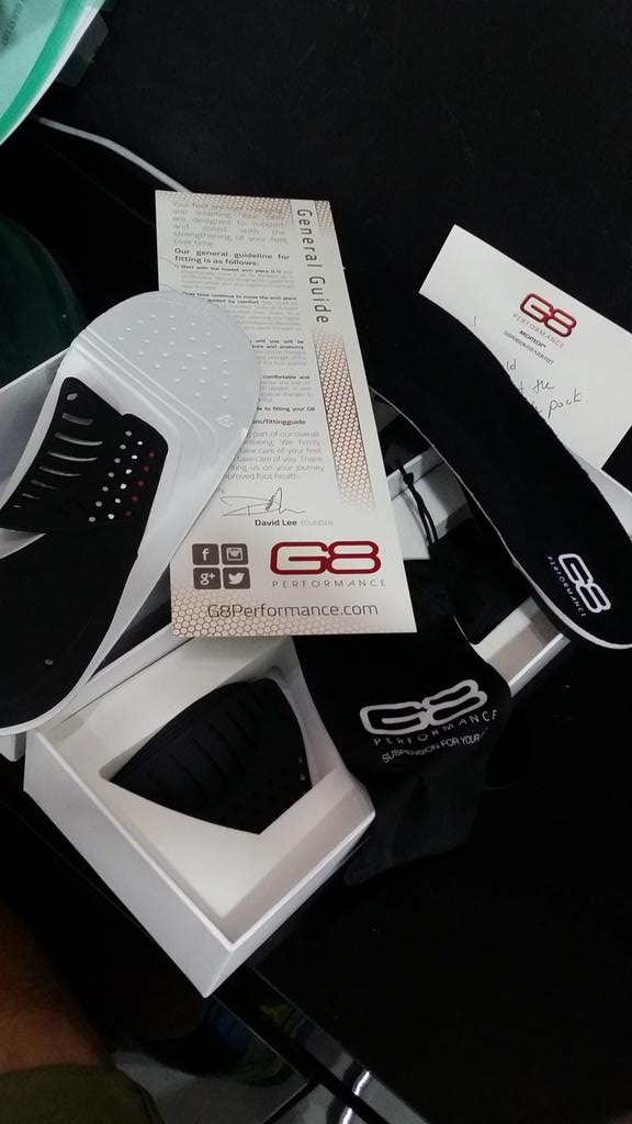 G8 2620 Cycling insoles