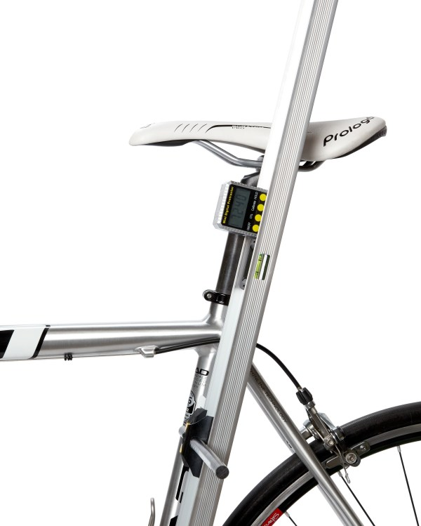Fit Bike seat tube angle