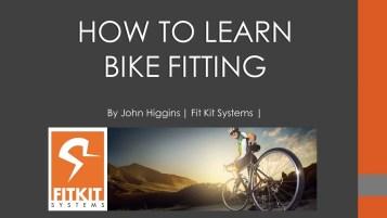 online bike fit courses