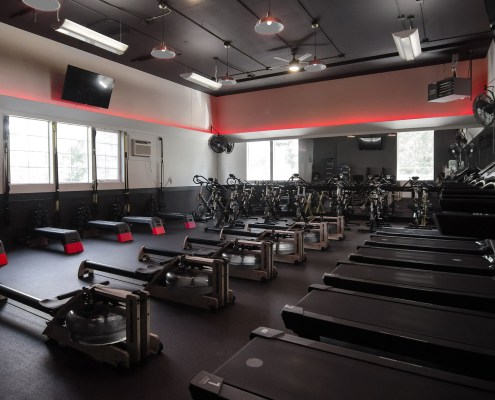 Strength Fitness Room at FitLab Fitness Studio in Gig Harbor Washington