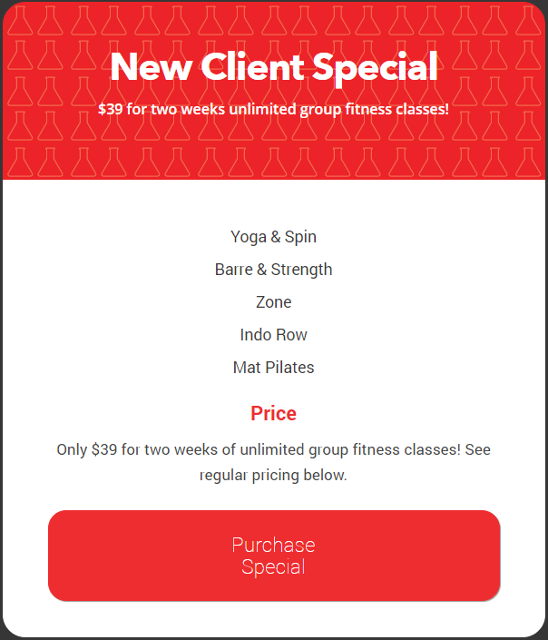 New Client Special