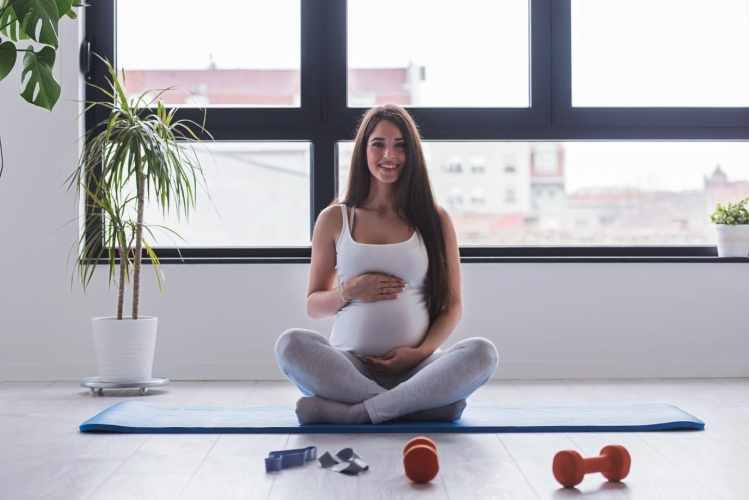 El entrenamiento durante el embarazo