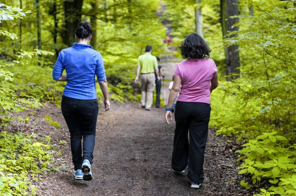 Camminata veloce per un sedere tondo e sodo