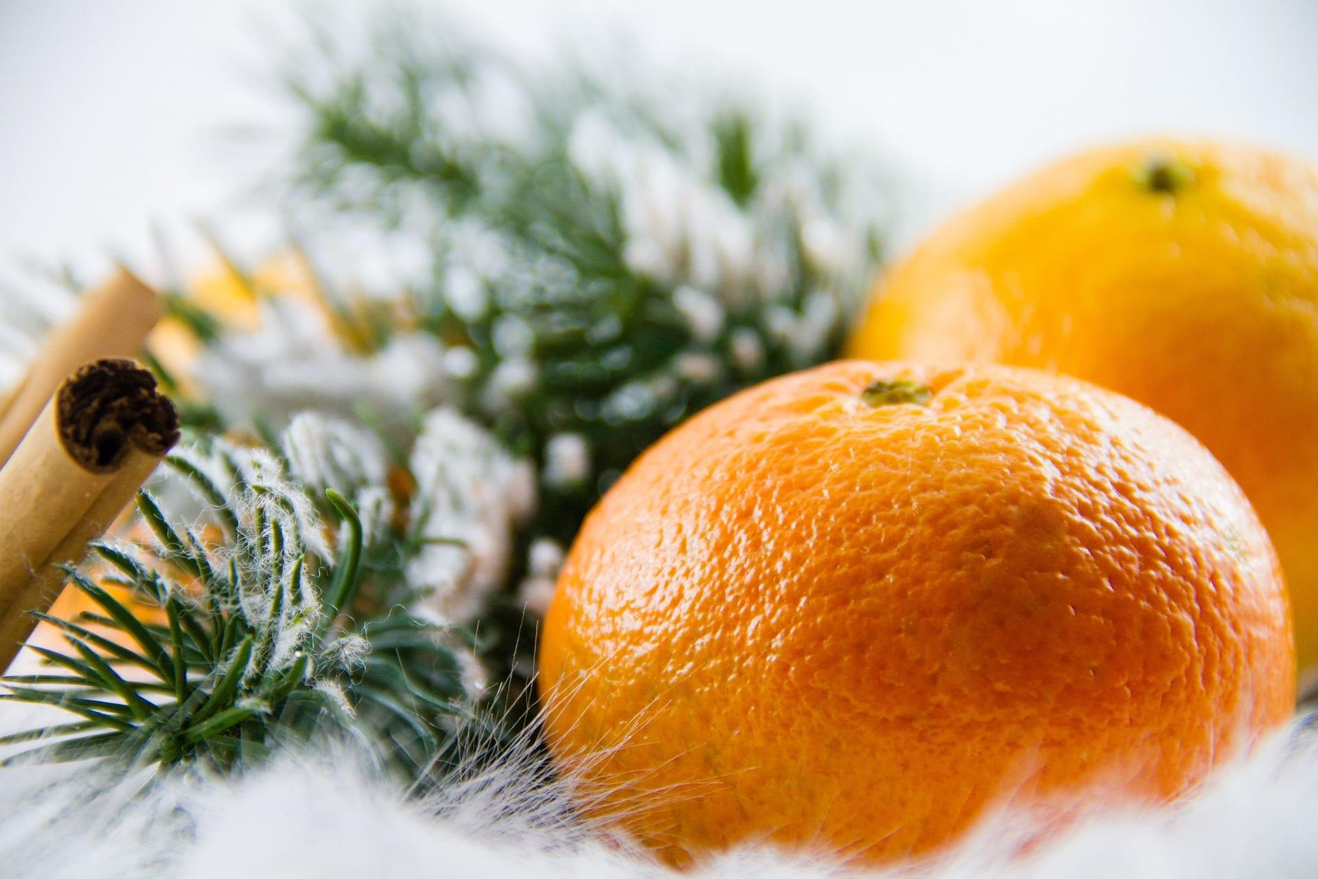 Frutta natalizia di stagione