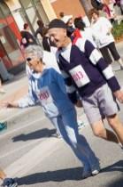 older couple walking