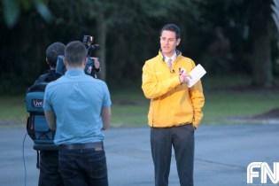 male reporter