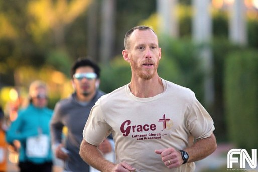 christian male runner