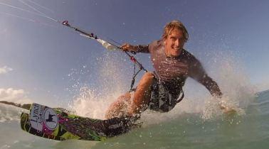 Damien-LeRoy-kite-boarding