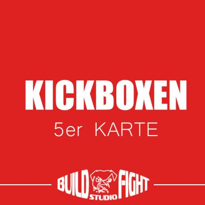kickboxen training 5er-karte