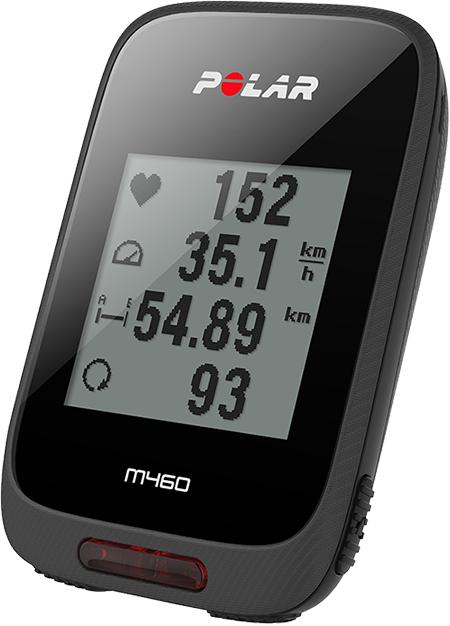 Polar M460 GPS Fietscomputer - Met hartslagsensor