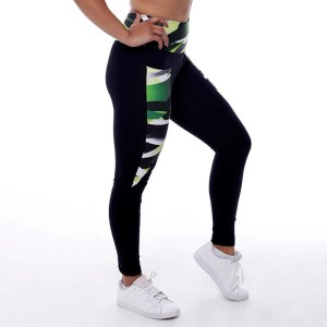 Zurik - Dames inverse sportlegging met graffiti design