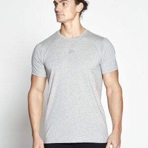 Fitness T-shirt Grijs Pro-Fit - Pursue Fitness (Let op: valt klein)
