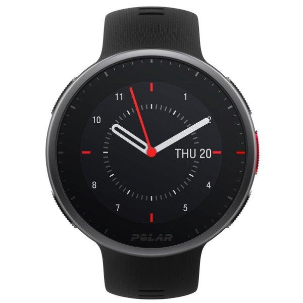 Polar Vantage v2 Premium Multisport Horloge - Zwart