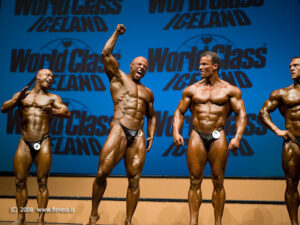 IFBB fitness and bodybuilding in Iceland