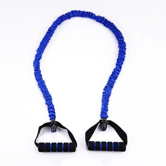 حبل المقاومة المطاط ازرق
