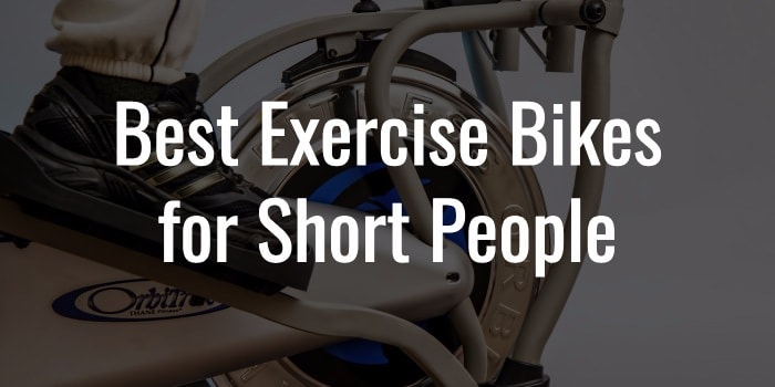 exercise bikes for short people
