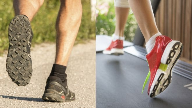 running on a treadmill vs running outside pros and cons