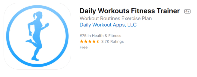 my favorite free daily fitness app daily workouts fitness trainer