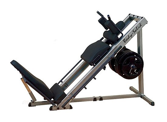 Body-Solid Leg Press/Hack Squat Machine