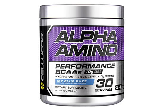Cellucor Alpha Amino Performance BCAA Powder For Men