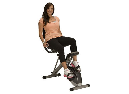 400XL Folding Recumbent Bike by Exerpeutic