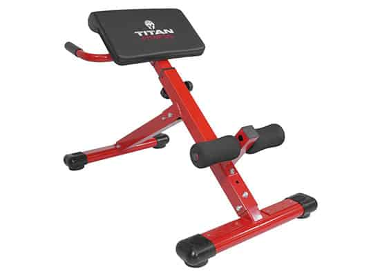 Titan Abs Back Hyper Extension Machine For Fitness