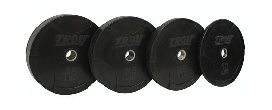 X Training Rubber Weight Set