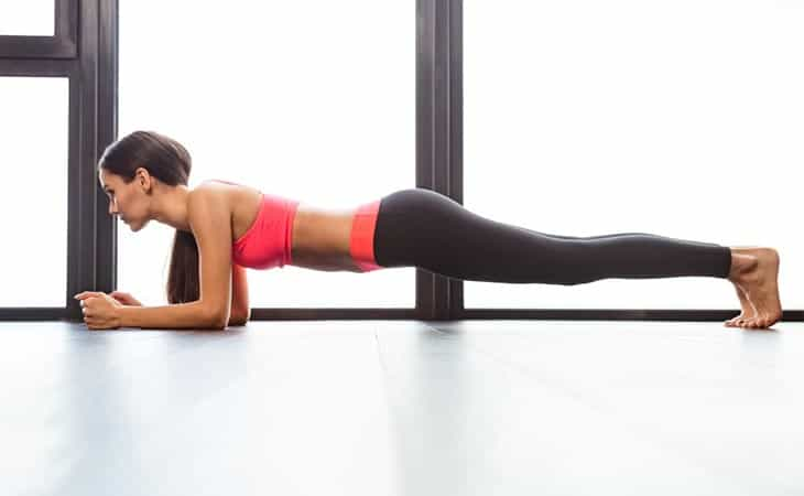 Benefit of doing planks