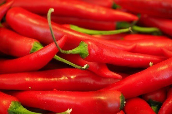 try red hot peppers for headache relief