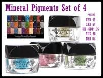Choose your four favorite pigments!