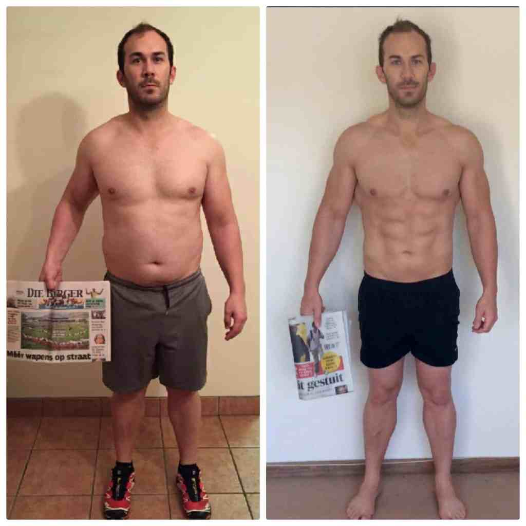Riaan Smit before and after