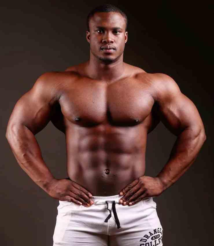 bodybuilder Sibusiso Khuzwayo