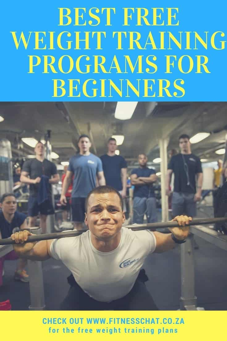 Best weight lifting plans for beginners