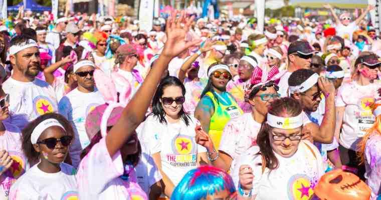 Color Run: Pretoria Superhero Tour