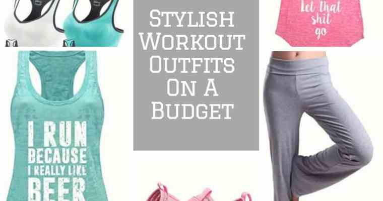 Stylish Workout Outfits On A Budget- Spring Fitness Faves