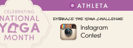 National Yoga Month Instagram Contest