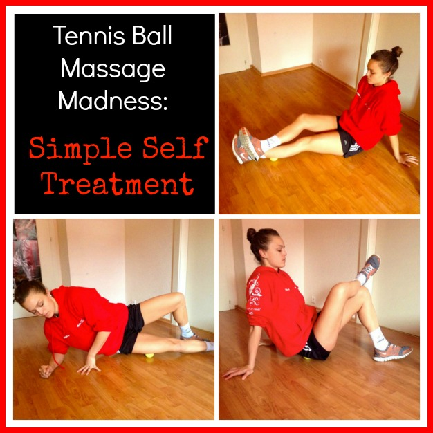 Simple Tennis Ball Release via http://www.fitnesscheerleader.com