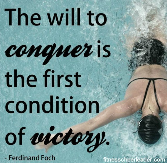 The will to conquer
