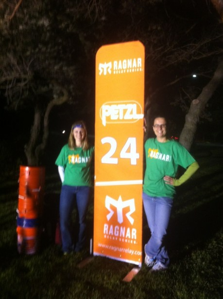 Volunteering at Ragnar