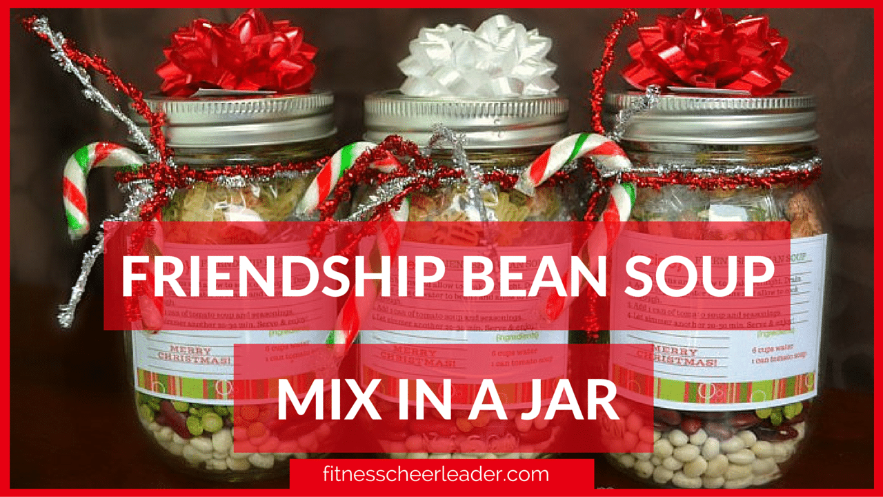 This year, make your child's teachers something special, affordable (and healthy) Friendship Bean Soup Mix in a Jar – A fabulous Christmas gift for teachers!