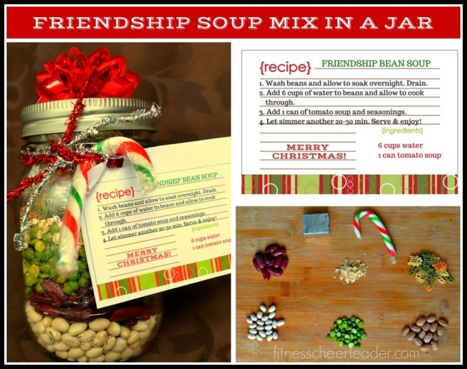Friendship Soup Mix in a Jar: An Awesome (Healthy) Gift for Teachers