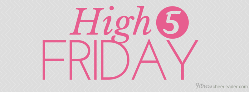 High 5 Friday - a collection of great articles and posts to read this weekend.