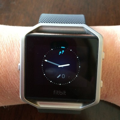 Fitbit Blaze - Heart rate and activity tracker smart watch with connected GPS