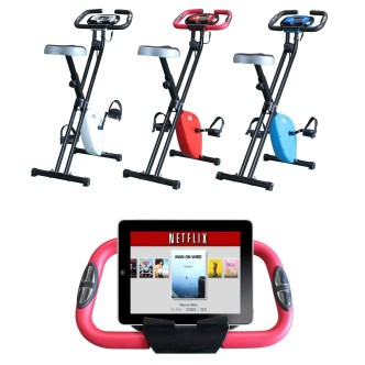 Foldable Magnetic Exercise X Bike